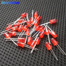 100pcs LED 5MM Red LED Light-emitting Diode Red Turn Red Diodes(China)