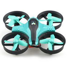 Super Mini Design RC Drone Dron 2.4GHz 6 Axis Gyro Quadcopter Headless Mode Speed Switch LED Lights Drones VS JJRC H36 FQ777 124(China)