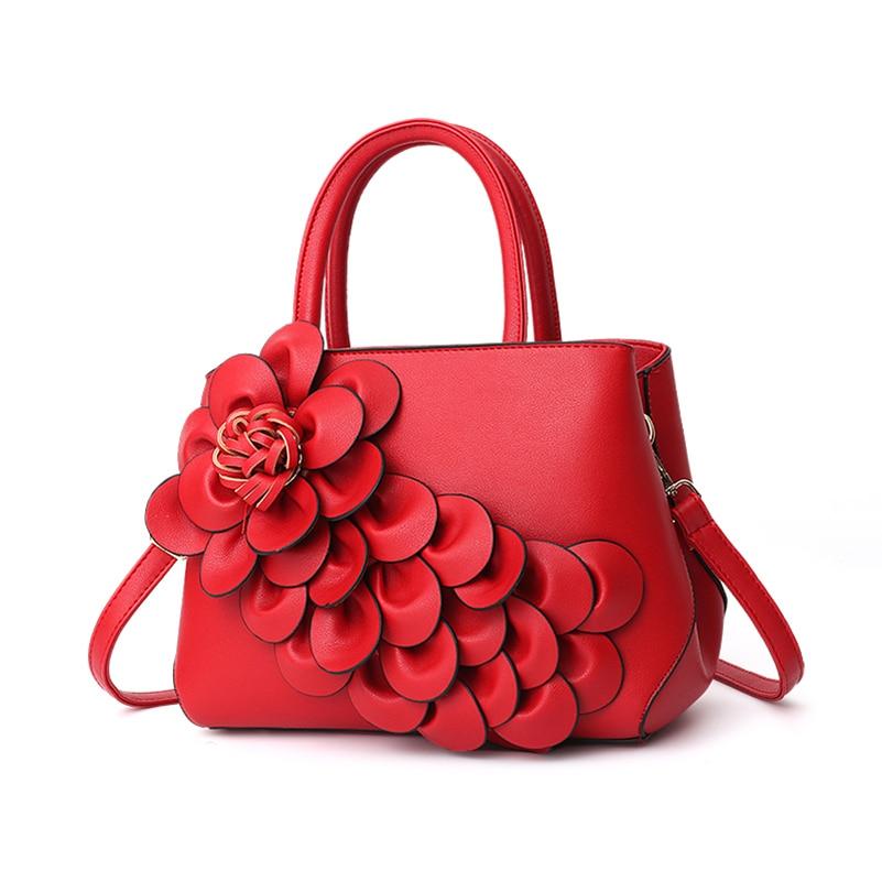 Nevenka Handbag Women Floral Handbags Small Shoulder Bags Leather Crossbody Bag for Women Handbags Purses and Handbags 201807