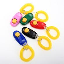 Universal Animal Pet Training Clicker Obedience Aid + Wrist Strap Light Weight