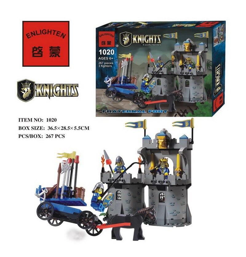 267pcs Hot Sale Castle Fortress Bunker Building Block mini Kid Toy Gift Compatible elied Lbk_qm_016<br><br>Aliexpress