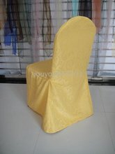 standard Gold damask chair cover(China)