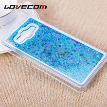 Buy LOVECOM Samsung Grand Prime G530 A3 A5 A7 J5 J7 2015 2016 Cover Glitter Star Dynamic Liquid Quicksand Transparent Hard Case for $1.49 in AliExpress store