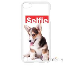 back shell skins cellphone case cover for iphone 4 4s 5 5s 5c SE 6 6s 7 plus ipod touch 4/5/6 Selfie Welsh Corgi Dog Design(China)