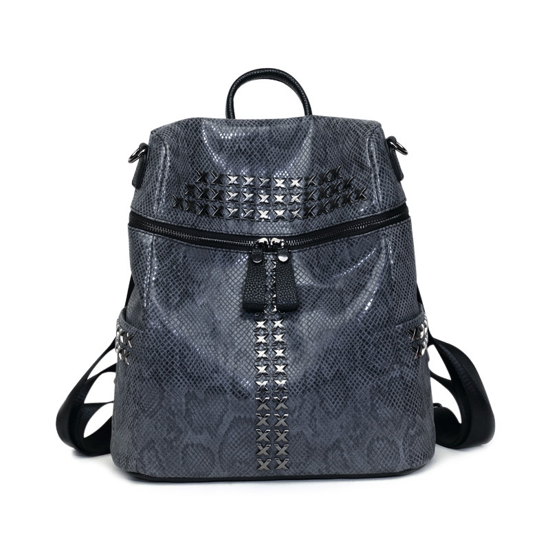 new backpack women bag Backpack shoulder bag Girl with backpack fashion bag school bag Luxury serpentine Illustrated fabrics<br><br>Aliexpress