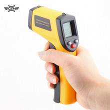 1Pcs GM320 Non-Contact Laser LCD Display IR Infrared Digital C/F Selection Surface Temperature Thermometer For Industry Home Use(China)