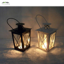 Metal Bird Cage Wedding Candle Holder Lantern Morocco Vintage Small Lanterns For Candles Decorative Cages Moroccan Lamp 023
