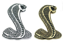 Cobra Snake Metal Emblem metal Badge, car Styling emblem sticker, blister packing,Free shipping