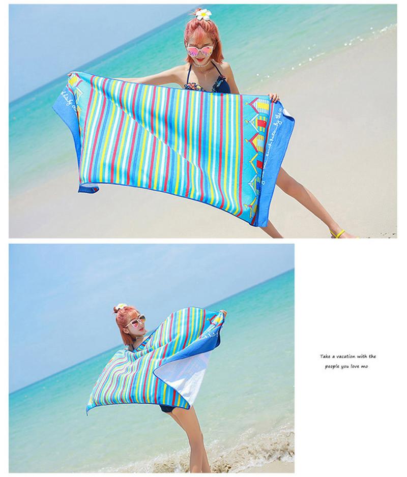 Micro Fiber Printed Beach Towel 140*70cm 38