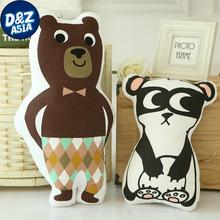 Cute bear shape pillow baby doll robot doll photo decoration creative sewing baby toys