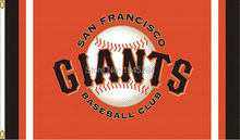 MLB San Francisco Giants Column Flag Banner New 3x5FT 90x150CM Polyester 8726, free shipping(China)