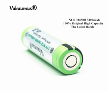 100% Original 3.7V NCR 18650B 3400mAh 18650 Li-ion Rechargeable Battery Panasonic Batteries/Power Bank/Flashlight/Charger - Vakaumus OfficiaI Store store