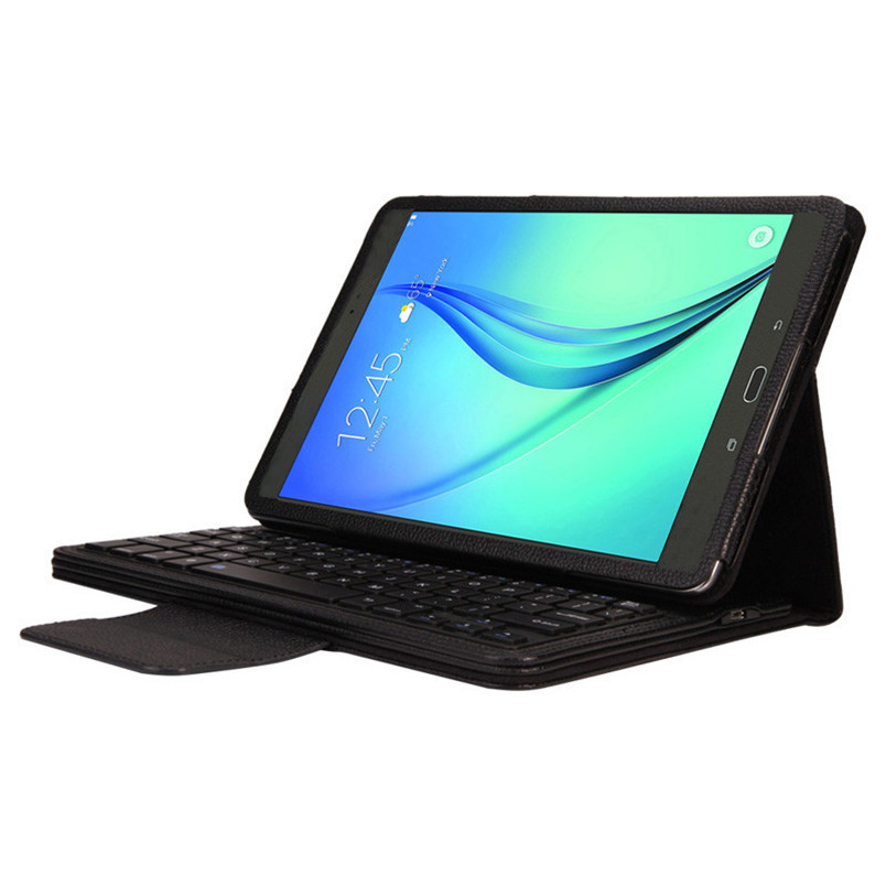Reliable  Bluetooth Keyboard Leather Case Stand For Samsung Galaxy Tab A 9.7 T550 <br><br>Aliexpress