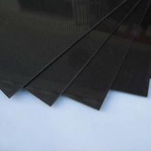 Hot! 1pcs 200*300*0.5mm With 100% Real Carbon Fiber plate/panel/sheet 3K plain weave Brand New Sale