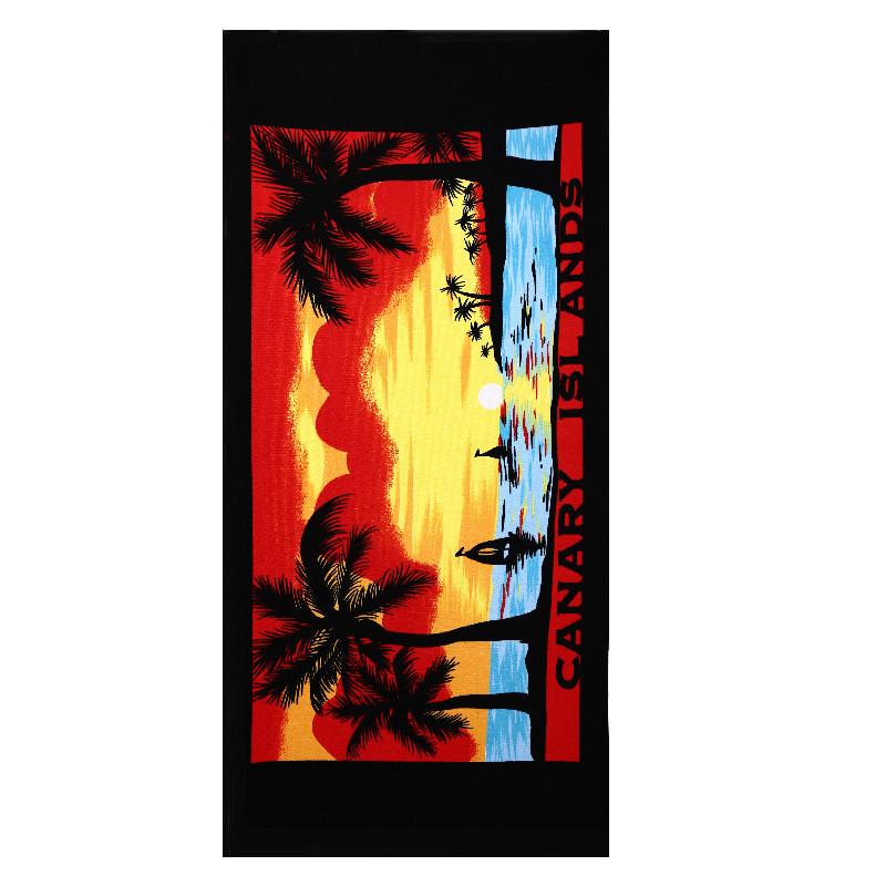 Micro Fiber Printed Beach Towel 140*70cm 23