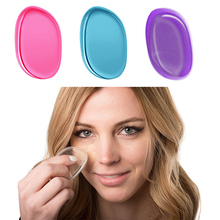 Hot SiliSponge Blender Silicone Sponge Makeup Puff For Liquid Foundation Powder BB Cream Beauty Essentials