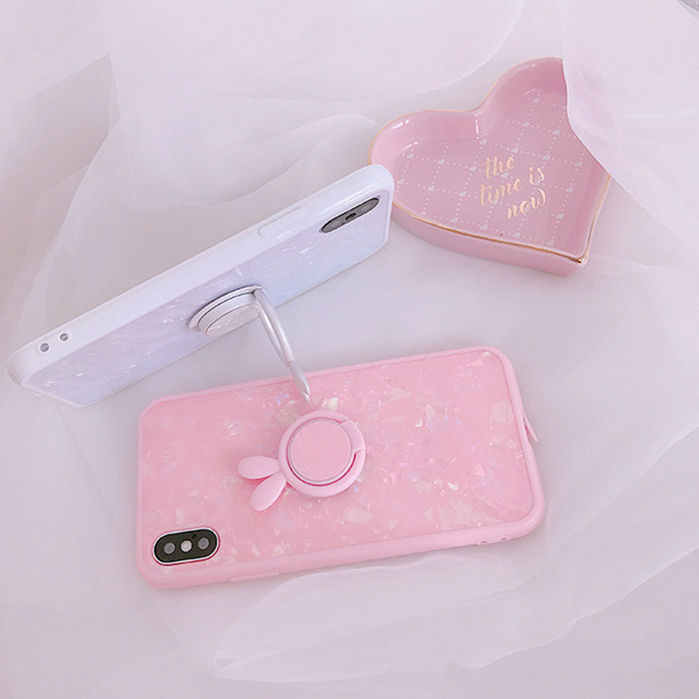Heyytle Kickstand Phone Stand Holder Cover For Apple iPhone X 8 7 6S 6 Plus Case Shell Cute Fantasy Soft TPU Back Cover Cases 6