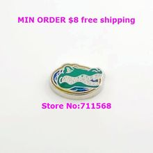 Florida Gators Locket Charm Sports Teams For Memory Glass Floating Locket Accessories(China)