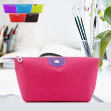 Hot Sale Lady MakeUp Pouch Cosmetic Make Up Bag Clutch Toiletries Travel Kit Jewelry Organizer Casual Purse