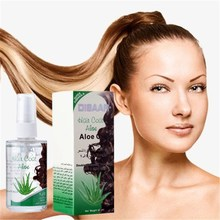 60ml DISAAR Aloe+Green Tea Hair Care Essential Oil  For Dry And Maintenance Hair Nutrition Essential Oil For Hair Straightening