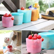 Best Seller Refrigerator Crisper Sealed Transparent Plastic Box Kitchen Sorting Food Storage Box Container Accessories