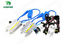 24V/55W Xenon Truck Headlight H8/H9/H11 HID Conversion xenon Kit Car HID light with Slim AC ballast For Lorry Drop Shipping(China)
