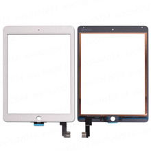 For iPad Air 2 Digitizer For iPad 6 A1567 A1566 Replacement Touch Screen Digitizer Glass White Black(China)