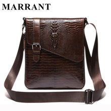 MARRANT Genuine Leather Men Bag Fashion Male Small Briefcase Men's Messenger Bags Man Casual Crossbody Shoulder Handbag 8239