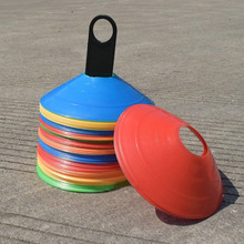 10PCS Outdoor Sport  Cross Track Space Marker Inline Skating Cross Speed Training Soccer Football Rugby Speed Training Disc Cone