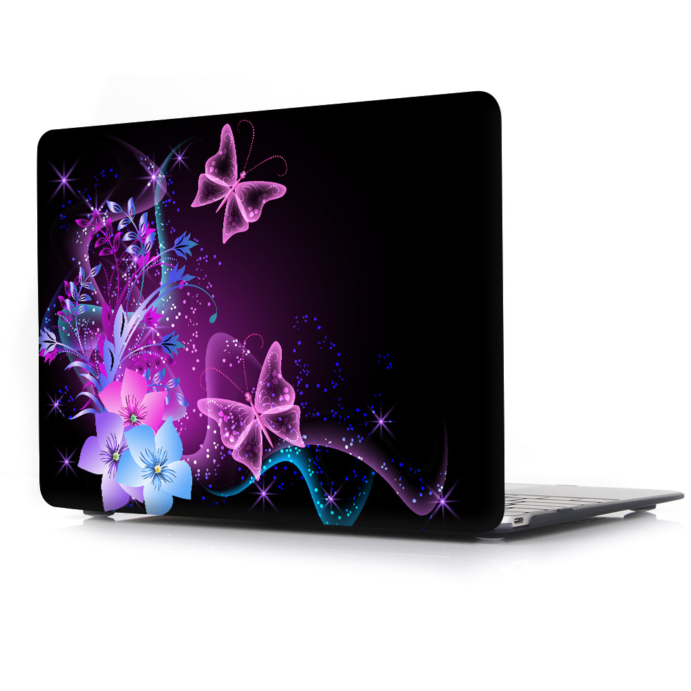 Pro Retina 13 15 Hard Case Flowers Butterflies For Air 11 12 13 inch Mac Book Cover <br><br>Aliexpress