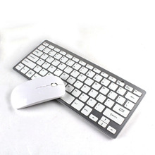 P For Android IOS Win 2.4GHz Bluetooth Optional Wireless Compact Ultra Thin Keyboard Mouse Gaming Keybaord&Optical Mouse Combos(China)
