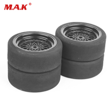 Buy 4pcs/lot Rc Car Tires 3mm Offset Sponge Tyres Wheel Rim Fit HSP HPI 1/10 Scale On-Road Racing Car Toys Unique Foam Tires 23001 for $14.99 in AliExpress store
