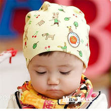 Lovely Pattern Baby Hat Winter Knitted Cap For child kids baby beanies Cotton Infants Hat MZ0007(China)