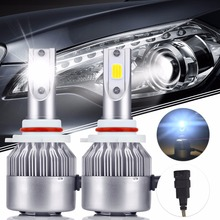 Buy 2Pcs C6 LED Bulbs Headlight H1 H3 H4 H7 9006 9005 H8 H10 H11 G3 Projector Auto Kit Lights 72W 7600LM LED LAMP IP67 Super Bright for $14.16 in AliExpress store