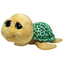 "Ty Beanie Boos 6"" Pokey the Yellow Turtle Plush Big Eyes Beanie Babies Plush Stuffed Animal Collectible Soft Doll Toy"
