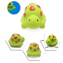 1 Pc Cute PVC Cartoon Animals Children Bath Playing Games In The Water Tools Baby Kids Educational Toys Best Pets Games Gifts(China)