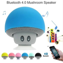 Wireless Mini Bluetooth Speaker Portable Mushroom Waterproof Stereo Bluetooth Speaker for Mobile Phone iPhone Xiaomi Computer(China)