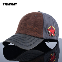 Mixed colors corduroy hats for men spring casual bone brand snapback cap women Baseball caps men's polo hat Unisex Golfs Gorras