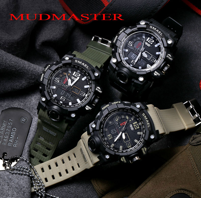 1 men watch waterproof