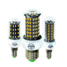 E14 E27 LED Corn bulb Lamp SMD4014 High Power 38 55 78 88 140Leds Replace Compact Fluorescent lampada For lustres e luminarias(China)