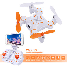 RC Quadcopter Mini Drones with Camera Foldable Drone WiFi FPV Dron Folding Drone Phone Control Video Photo Dwi Dowellin 901S