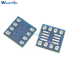 Free Shipping 10PCS SOP8 SO8 SOIC8 TO DIP8 Interposer board pcb Board Adapter Plate New