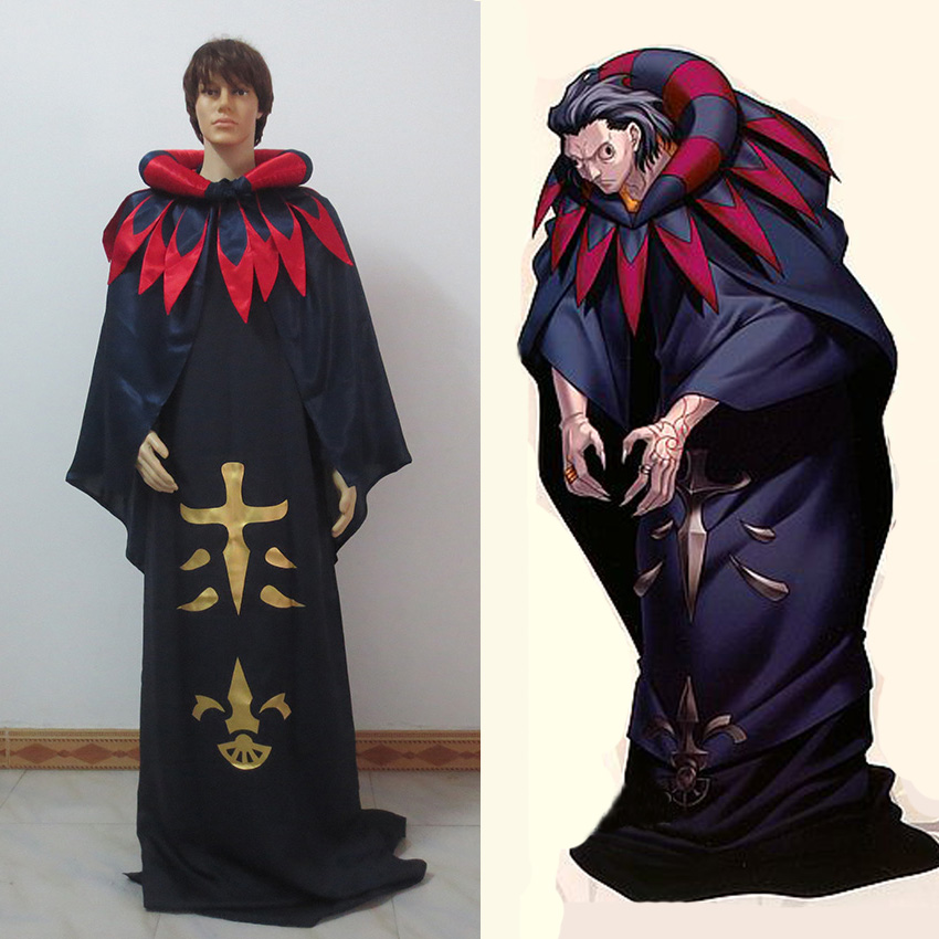 Fate/Zero Servant Caster Cosplay Costume Customize Free Shipping