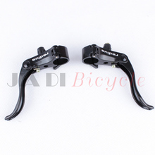Buy Fixed Gear Brakes Handle Ultra-light Aluminum Bicycle Brake Levers Mountain Bike Foldable Road Bike Cycling Brake Accessories for $9.49 in AliExpress store