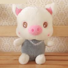 Diamond necklace birthday gift ideas girls Little Pig Pig plush toy doll cute doll(China)