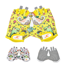 FIRELION Children Cycling Gloves Kids Half Finger Bike Gloves Sports Road Biking Riding Gloves for boy girl Fingerless Bicycle