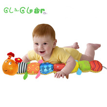 Musical Stuffed Plush Baby Toys, musical sound, music educational multifunction caterpillars BB device