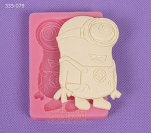 YQYM New arrival hot free shipping chocolate cartoon silicone mold walmart bakery fondant kitchen decorating tools