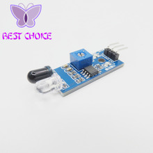 IR Infrared Obstacle Avoidance Sensor Reflection Photoelectric Module for Arduino Smart Car Robot  Reflective Photoelectric