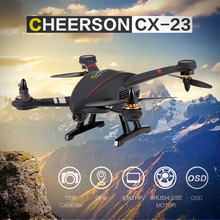 CHEERSON CX-23 5.8G FPV 2.0MP Camera GPS Brushless Quadcopter OSD Circle Surround Height Hold RC Drone Professional Helicopter(China)
